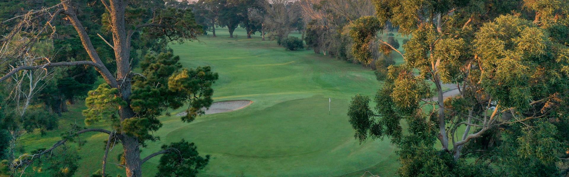 Hole 2 - Rossdale Golf Club