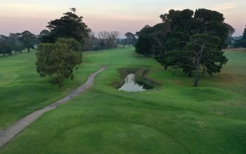 Rossdale Hole 2 323m Tee Shot High