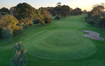 Rossdale Hole 4 403m Green