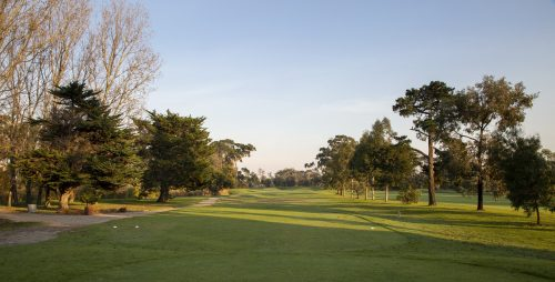 Rossdale Hole 8 310m Tee Shot