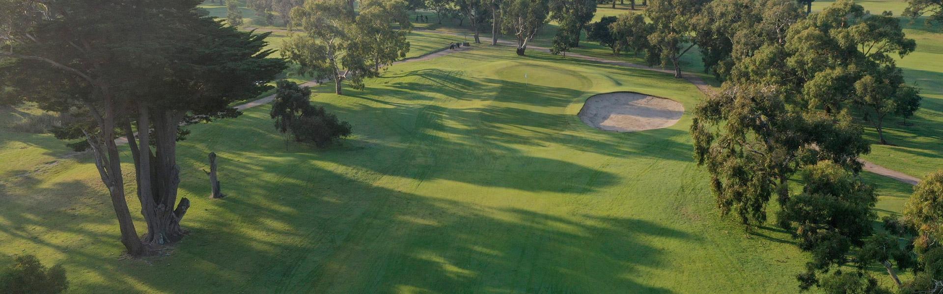Hole 1 - Rossdale Golf Club