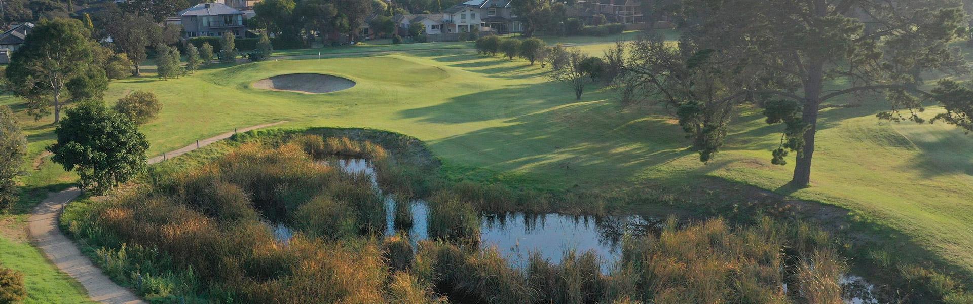 Hole 3 - Rossdale Golf Club