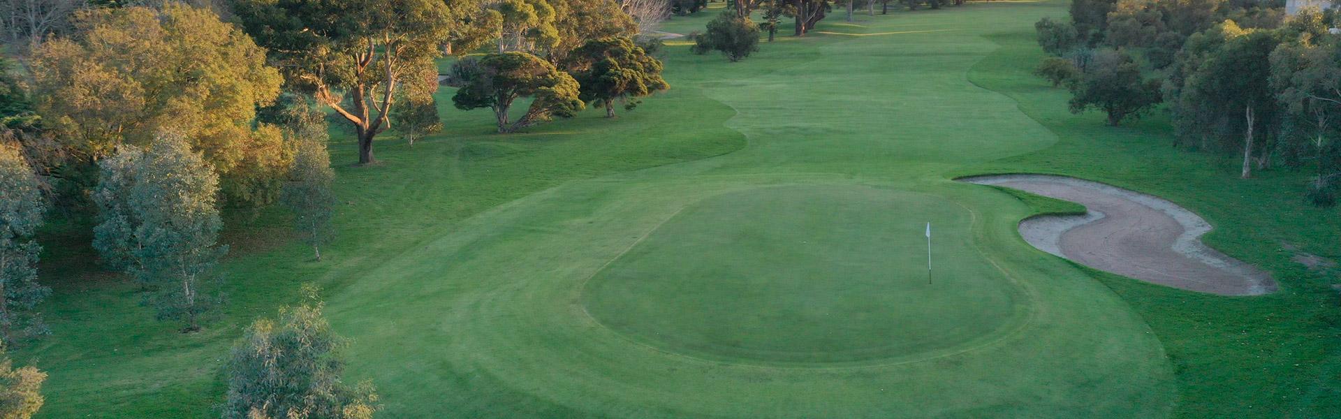 Hole 4 - Rossdale Golf Club