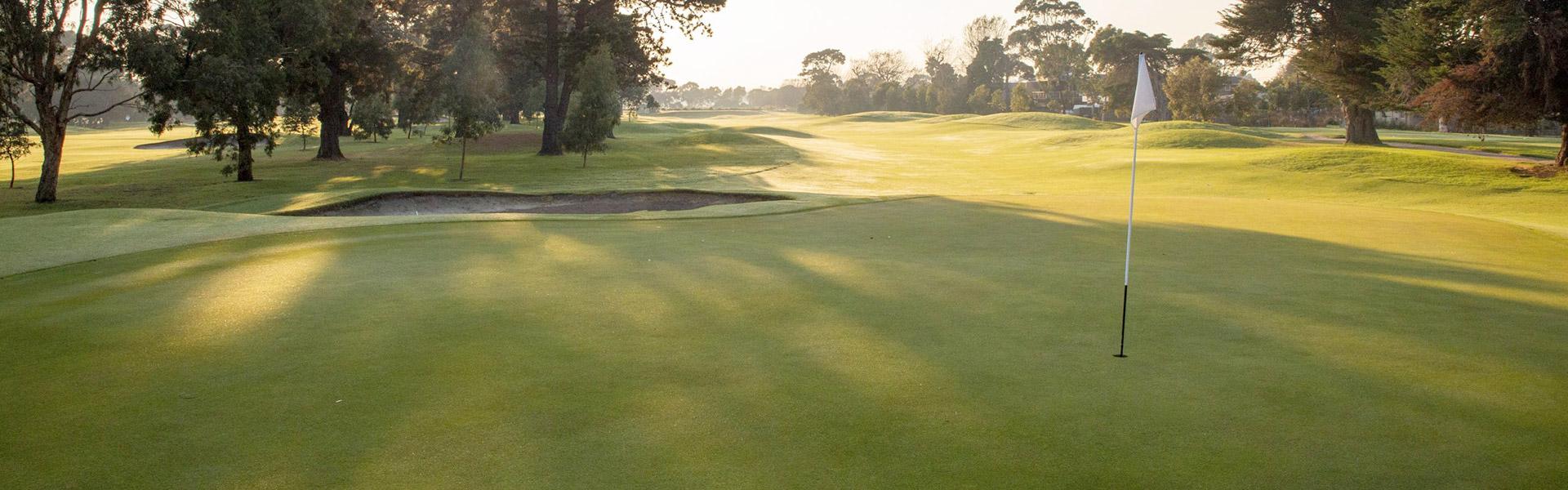 Hole 6 - Rossdale Golf Club