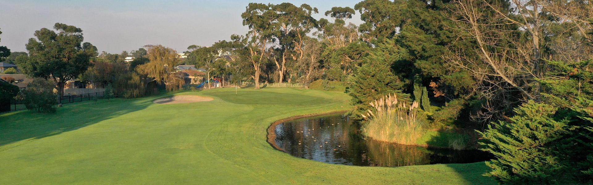 Hole 7 - Rossdale Golf Club