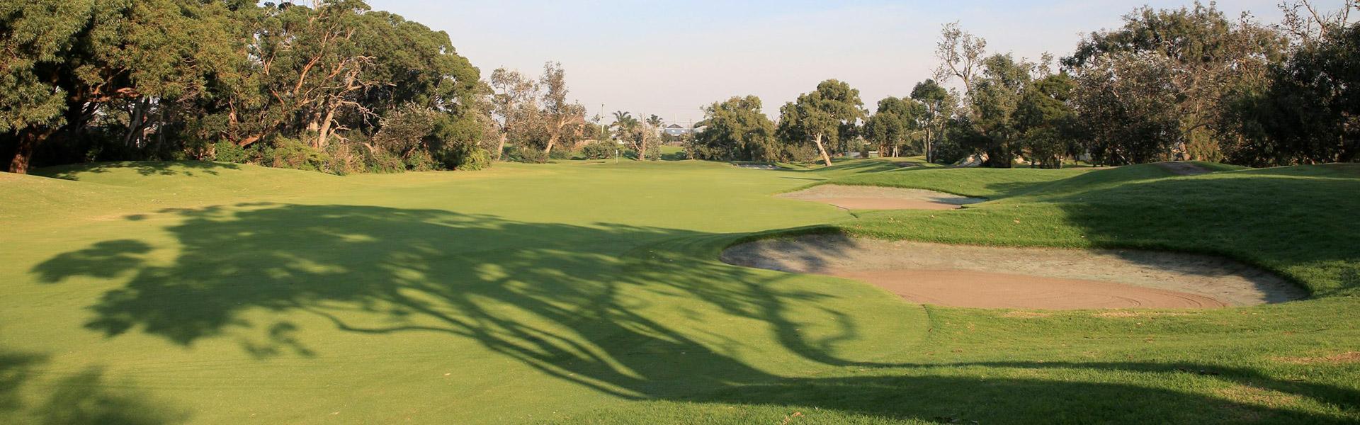 Hole 8 - Rossdale Golf Club