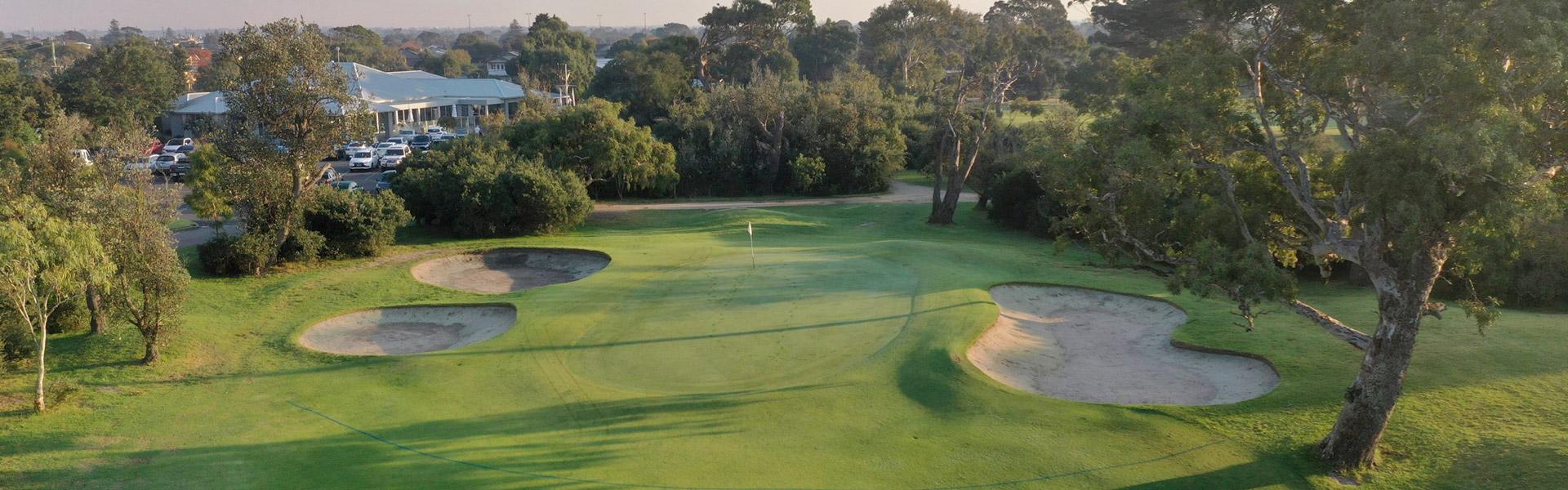 Hole 9 - Rossdale Golf Club