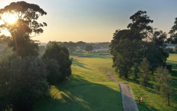 Rossdale Hole 12 145m High Tee Shot