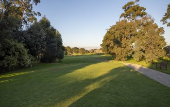 Rossdale Hole 12 145m Tee Shot