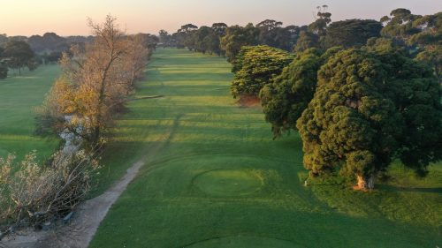 Rossdale Hole 14 386m Tee High