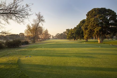 Rossdale Hole 14 386m Tee Shot