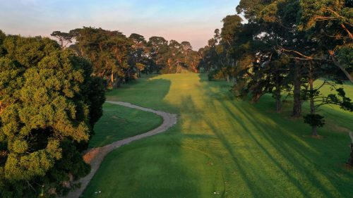 Rossdale Hole 16 163m High Tee Shot