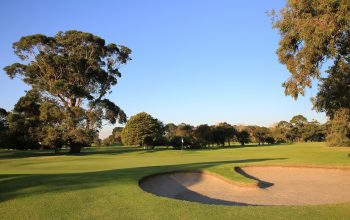 Rossdale Hole 18 385m Back Left Green