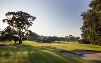 Rossdale Hole 18 385m Back Of Green