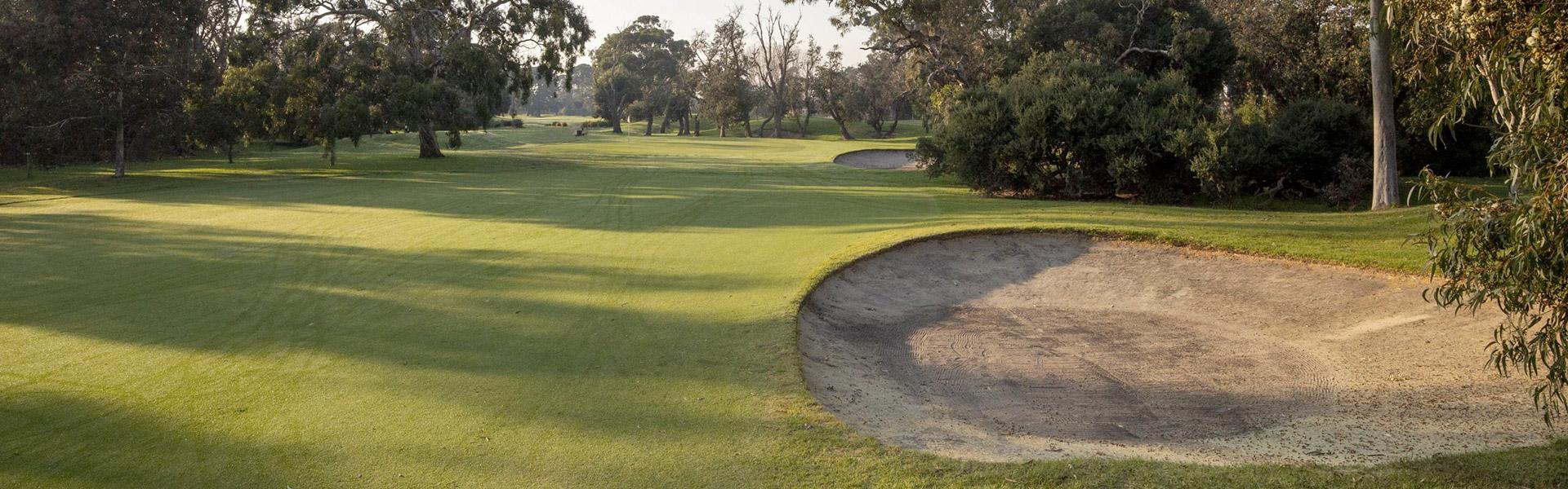 Hole 10 - Rossdale Golf Club