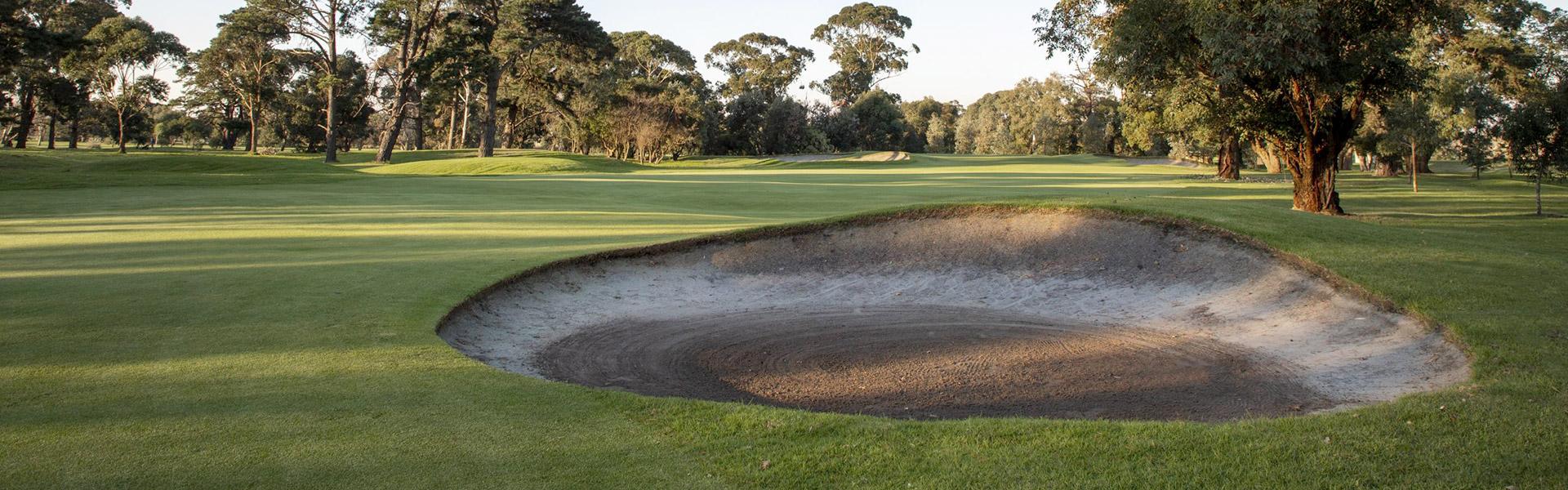 Hole 11 - Rossdale Golf Club