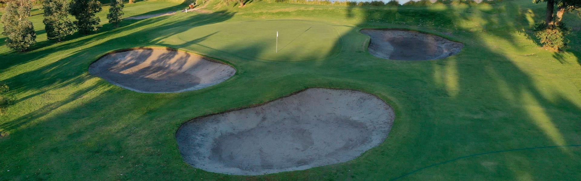 Hole 12 - Rossdale Golf Club