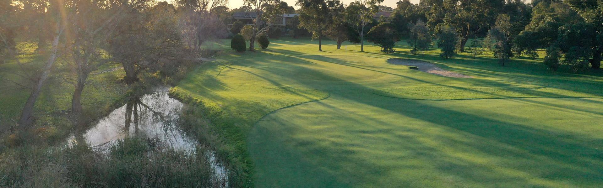 Hole 13 - Rossdale Golf Club