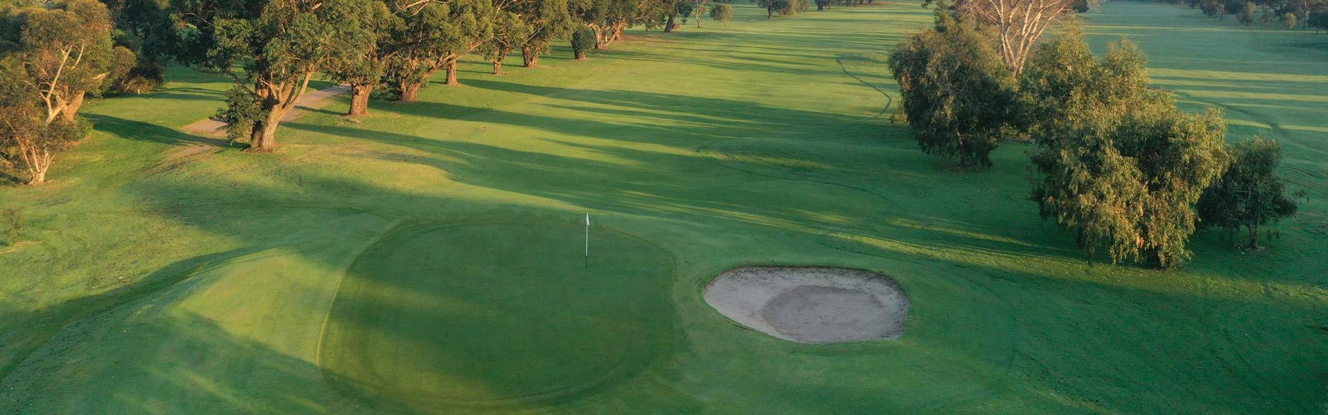 Hole 14 - Rossdale Golf Club