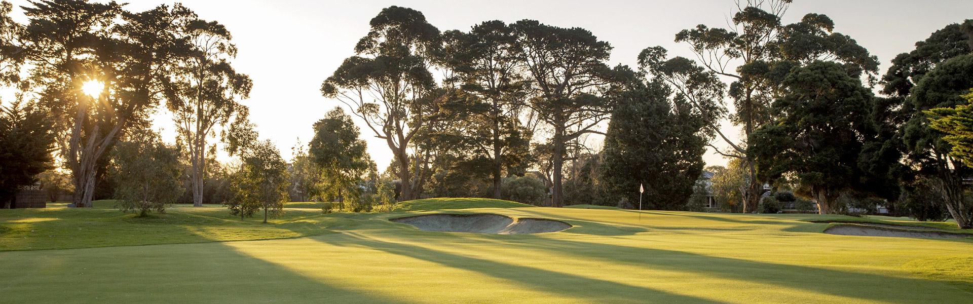 Hole 15 - Rossdale Golf Club