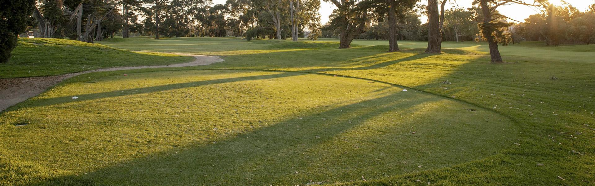Hole 16 - Rossdale Golf Club
