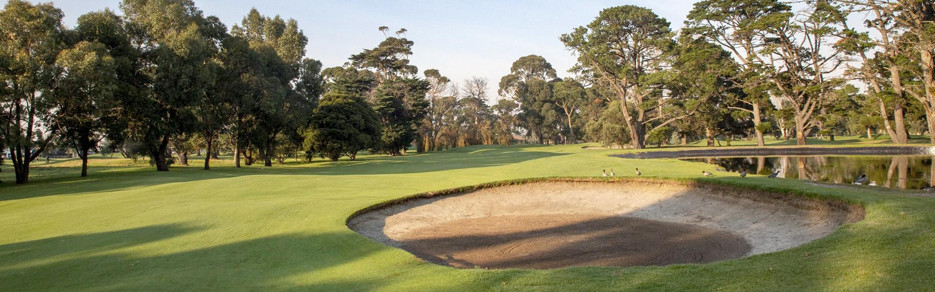 Hole 17 - Rossdale Golf Club