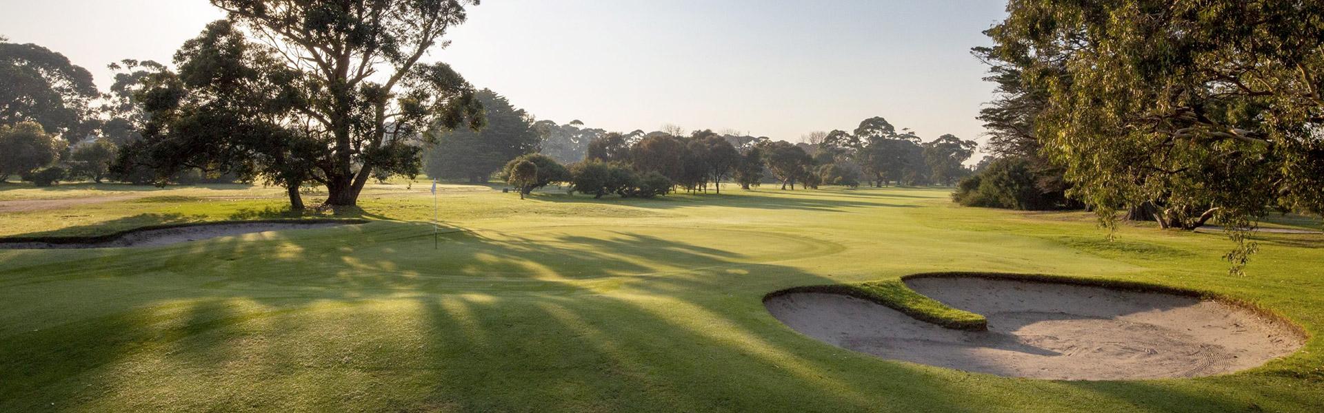 Hole 18 - Rossdale Golf Club