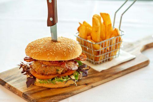 Rossdale Golf Club - Bistro menu   Gourmet South Gipplsland Beef Burger