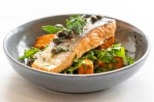 Rossdale Golf Club - Bistro menu   Salmon main