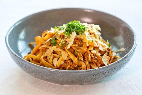 Rossdale Golf Club - Bistro menu   Home made Spaghetti Bolognese